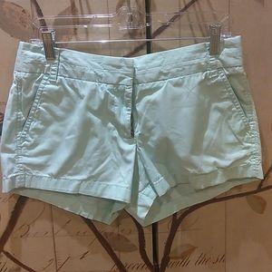 J Crew Womens Chino Sz 6 Shorts Flat Front - X33
